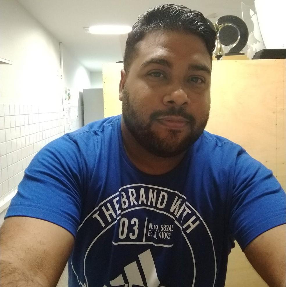 O estudante de educação física da Universidade Estadual do Rio Grande do Norte (UERN) Tiago Fernandes do Nascimento morreu de Covid-19 nesta segunda (19) — Foto: Redes Sociais