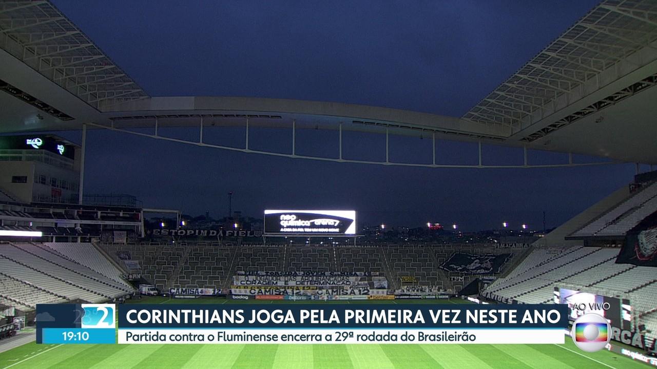 Corinthians joga pela primeira vez em 2021