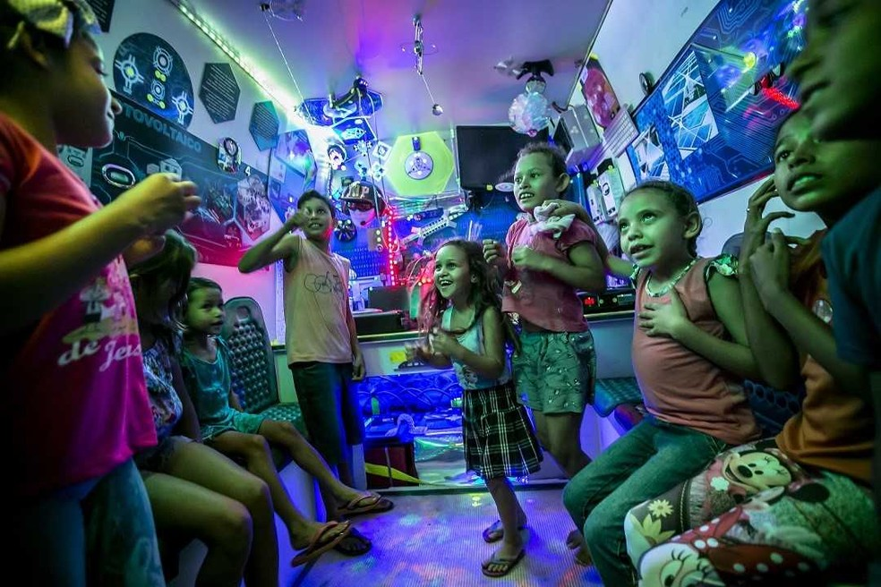 Crianças podem participar de oficinas (Foto: Divulgação)