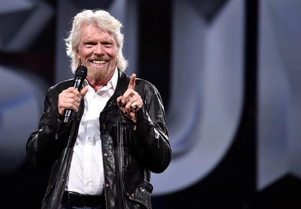 Richard Branson, no Adobe Summit 2018 (Foto: Divulgação)