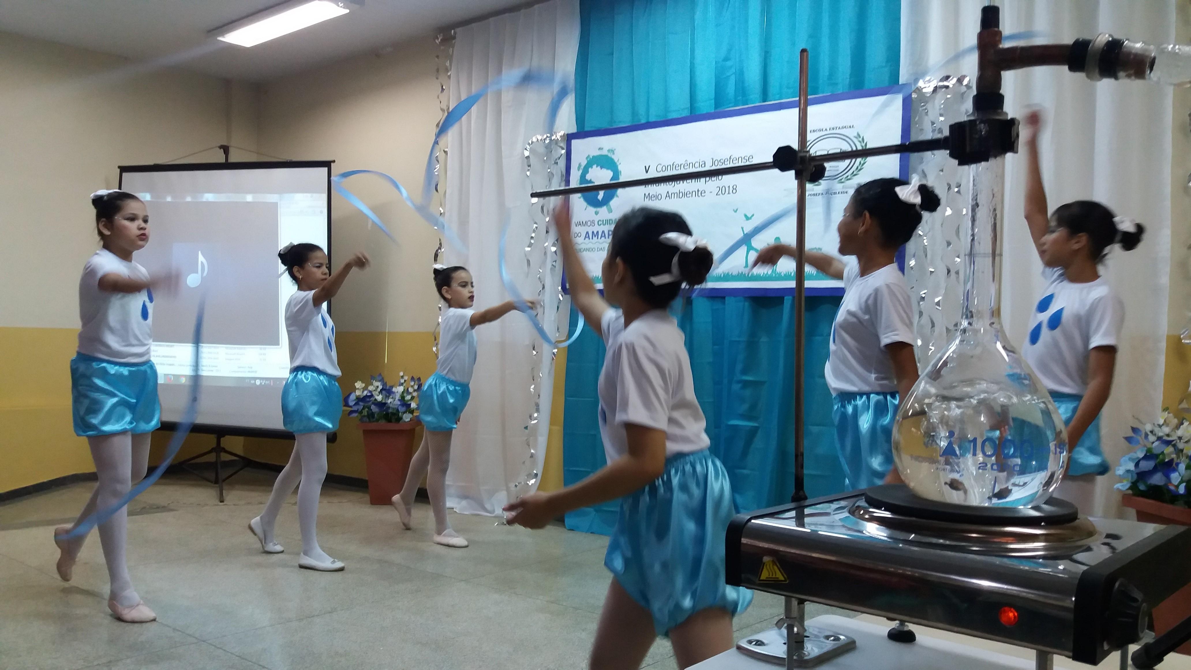 Aulão em escola estadual do Amapá chama atenção para a importância da água