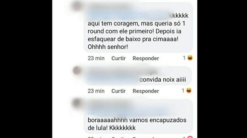 Ameaças feitas ao prefeito Edinho Silva (PT) de Araraquara — Foto: Reprodução/Facebook