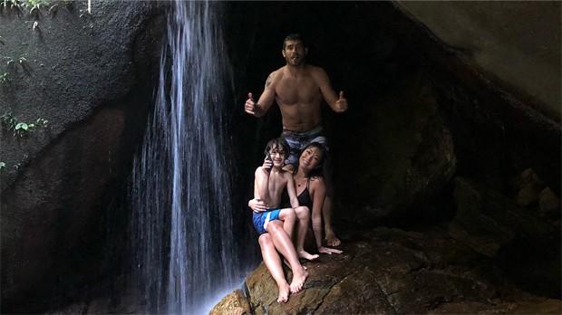 Danni Suzuki, Kauai e Fábio Novaes (Foto: Reprodução/Instagram)