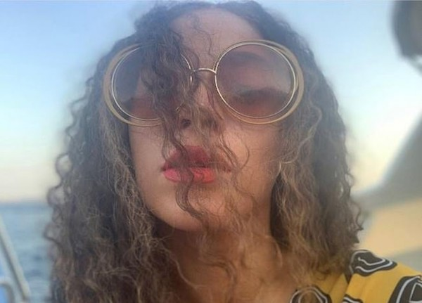 Uma das fotos compartilhadas pela cantora Beyoncé em seu álbum com registros de 2020 (Foto: Divulgação)