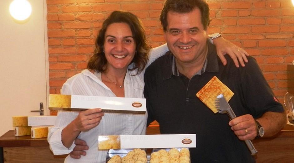Mirany Soares e Marcello Lage, casados e sócios (Foto: Divulgação)