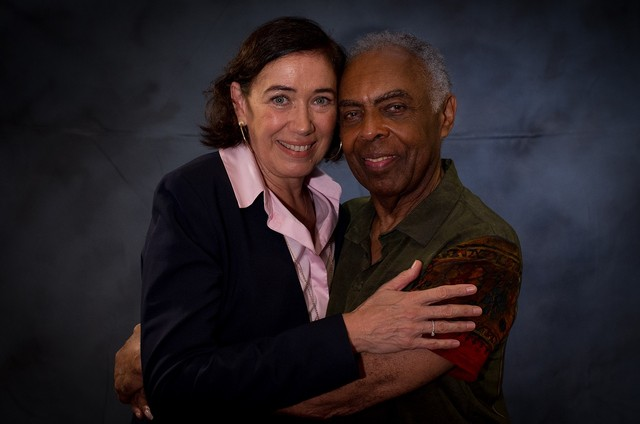 Lilia Cabral e Gilberto Gil (Foto: Divulgação/Canal Brasil)