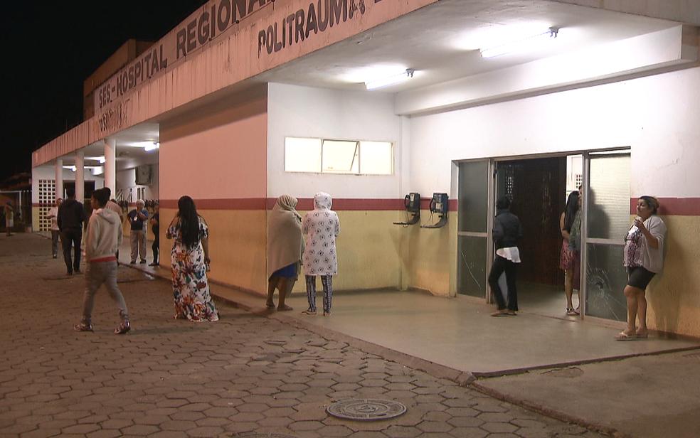 Fachada do Hospital Regional do Gama, no Distrito Federal (Foto: TV Globo/Reprodução)