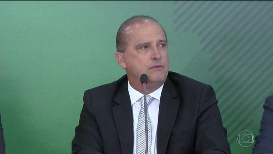 """Em áudio enviado a caminhoneiro, Onyx diz que o 'governo deu uma """"trava"""" na Petrobras'"""