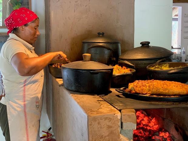 O restaurante Jacaré da Fazenda em Trancoso (Foto: Alexandra Forbes)