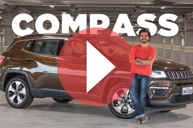 Vídeo: Jeep Compass (Foto: Divulgação)