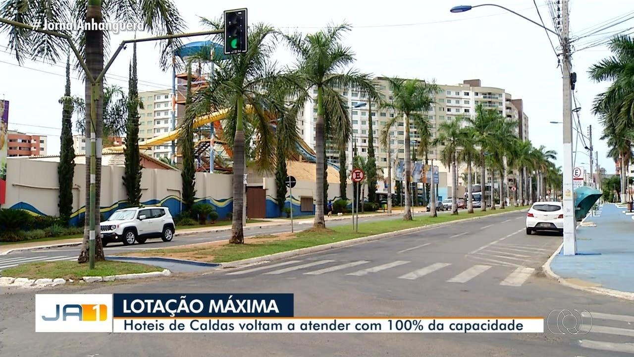 Hotéis em Caldas Novas podem atender com 100% da capacidade