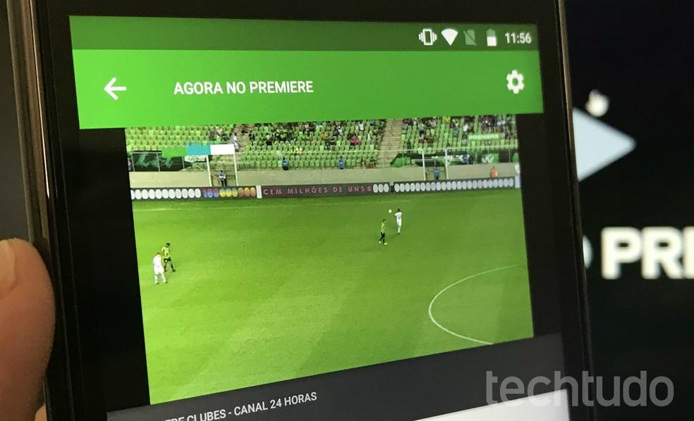 Premiere Play Como Baixar E Usar O App Para Assistir A Jogos Ao Vivo Audio E Video Techtudo