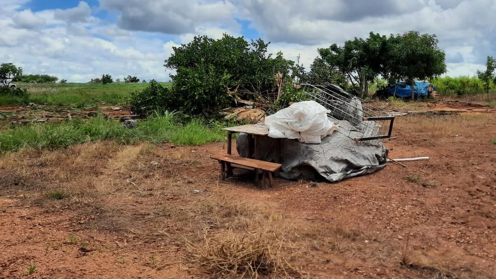 Famílias vivem na região desde 2014 — Foto: Divulgação