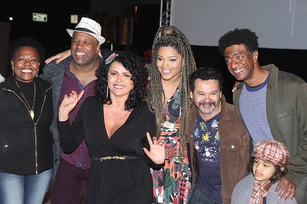 Famosos na abertura do 13º Festival de Cinema Latino-Americano de São Paulo (Foto: AmauriNehn/Brazil News)