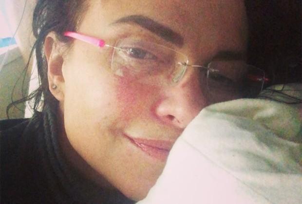 Luiza Tomé perde festa de O Sétimo Guardião (Foto: Reprodução/Instagram)