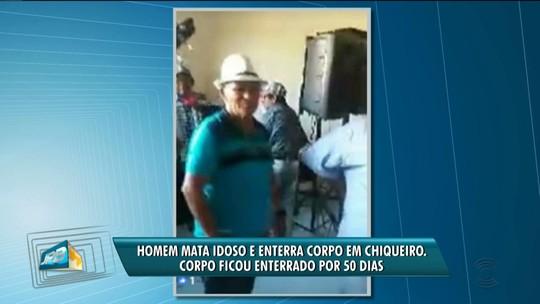 Homem mata idoso e enterra corpo em chiqueiro, em Barra de Santa Rosa, PB, diz polícia