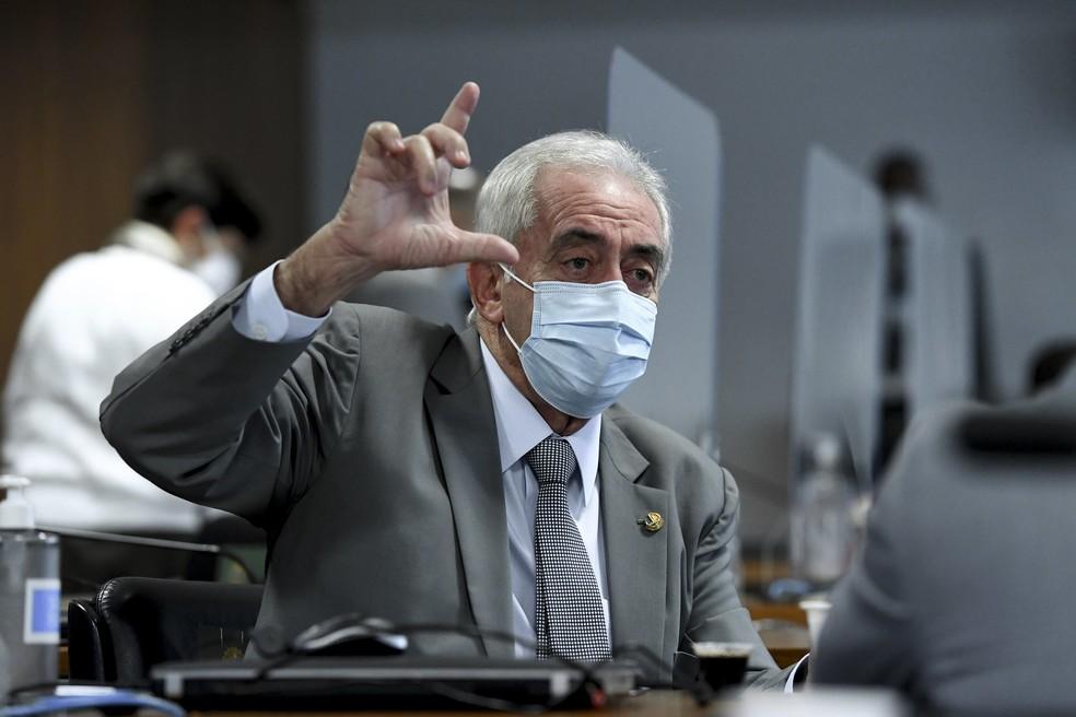 Senador Otto Alencar (PSD) testa positivo para Covid-19 — Foto: Edilson Rodrigues/Agência Senado