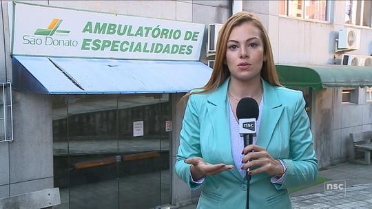 Hospital São Donato, de Içara, suspende atendimento ambulatorial na ortopedia