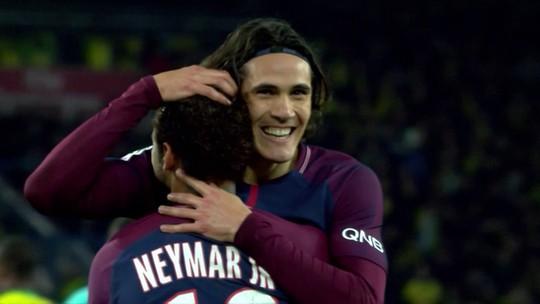 "Cavani revela: ""Neymar vai bater o próximo pênalti"" do PSG"
