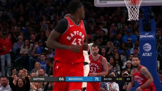 Melhores momentos: Dallas Mavericks 110 X 102 Toronto Raptors, pela NBA
