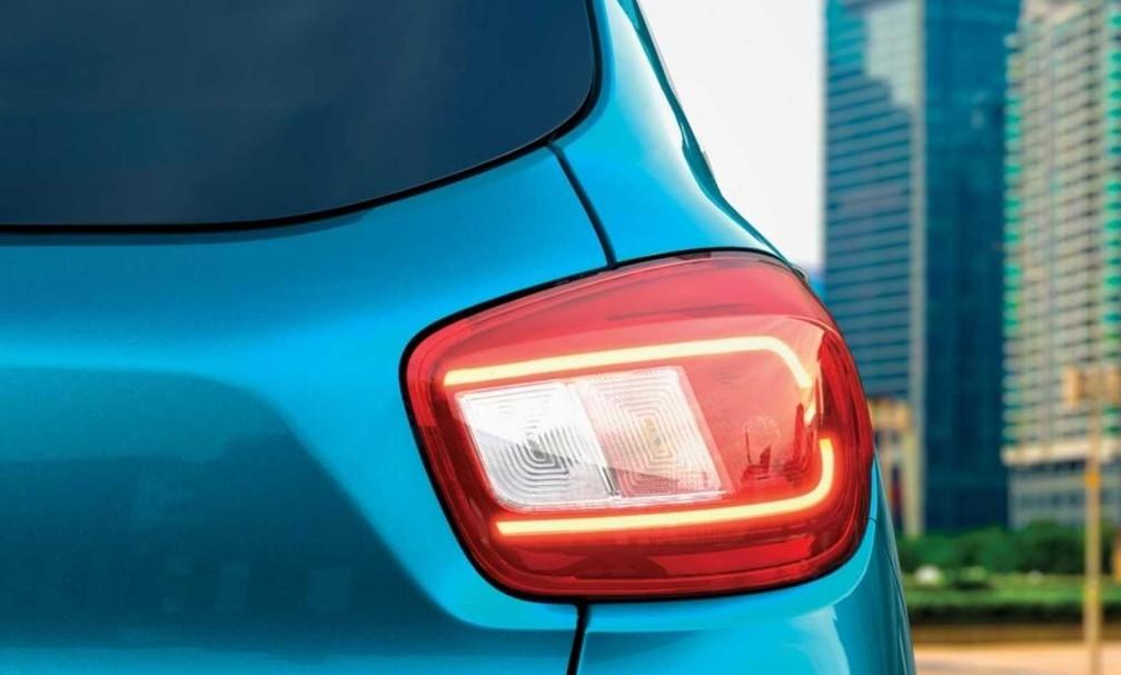 Rear of new Renault Kwid has LED flashlights - Photo: Divulgação / Renault