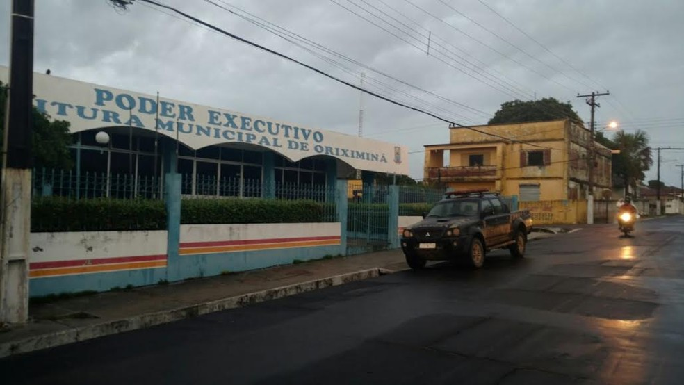 Prefeitura de Oriximiná  — Foto: Junior Canto