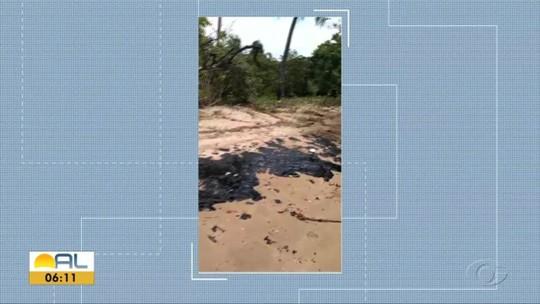 Sobe para 30 o número de pontos atingidos pelo óleo no litoral alagoano, diz Ibama