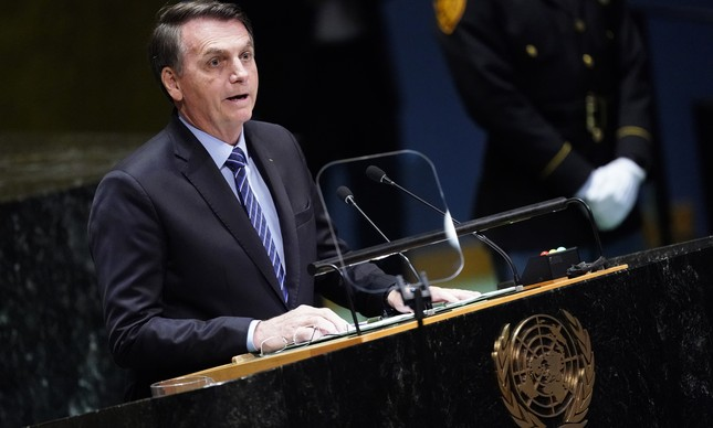 Bolsonaro discursa na 74ª Assembleia-Geral da ONU