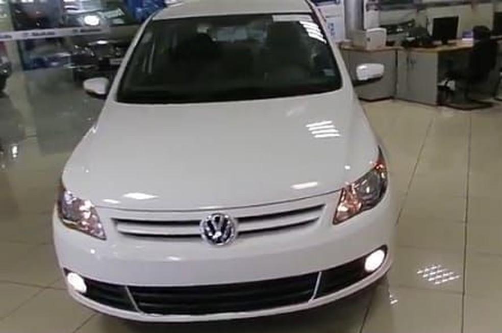 Veículo Gol foi anunciado em site de vendas em MS — Foto: Arquivo pessoal