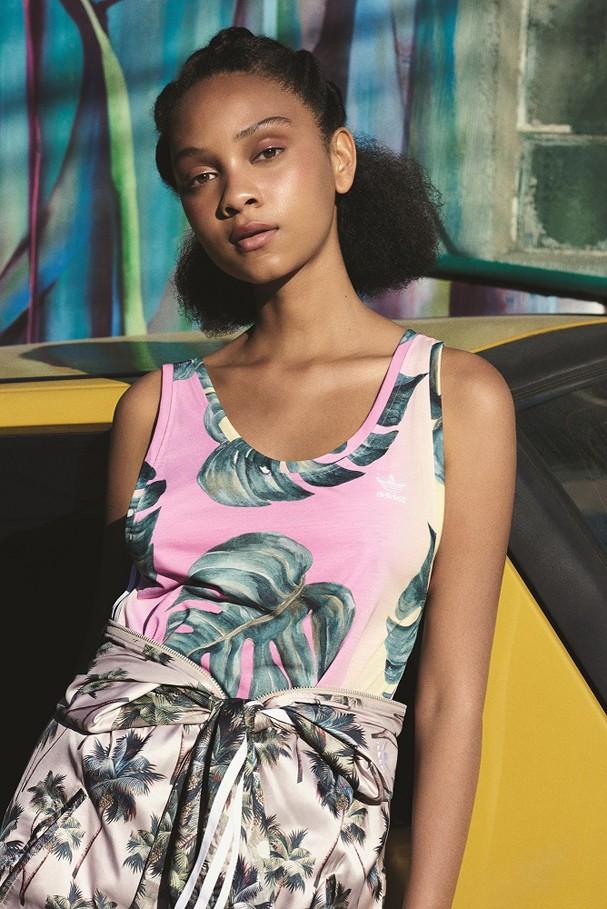 FARM e Adidas Originals lança a oitava coleção global (Foto: Divulgação)