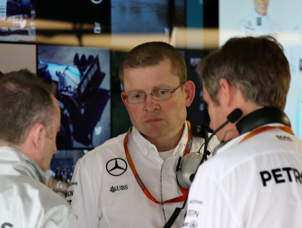Andy Cowell, chefe de motores da Mercedes (Foto: Getty Images)