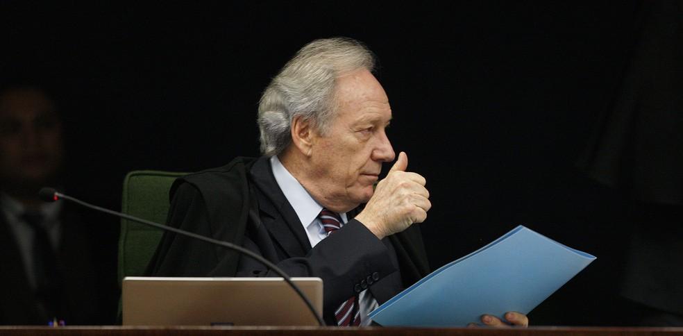 Ministro Ricardo Lewandowski durante sessão da 2ª turma do STF — Foto: Rosinei Coutinho/SCO/STF