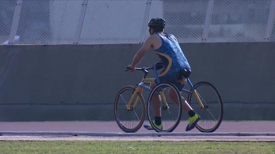 Triciclo adaptado inclui paralisados cerebrais no Mundial de Atletismo Paralímpico