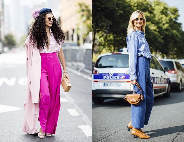 O street style é uma fonte de inspiração inesgotável para quem quer aprender a combinar cores (Foto: Imaxtree)