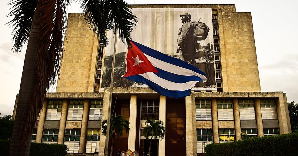 Homenagens a Fidel Castro começam nesta segunda-feira (28) em Havana (Foto: Ronaldo Schemidt/AFP)
