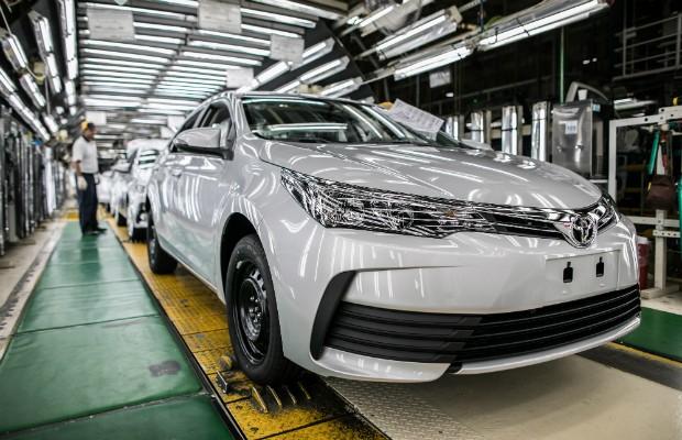Fábrica da Toyota em Indaiatuba (SP) (Foto: Divulgação)