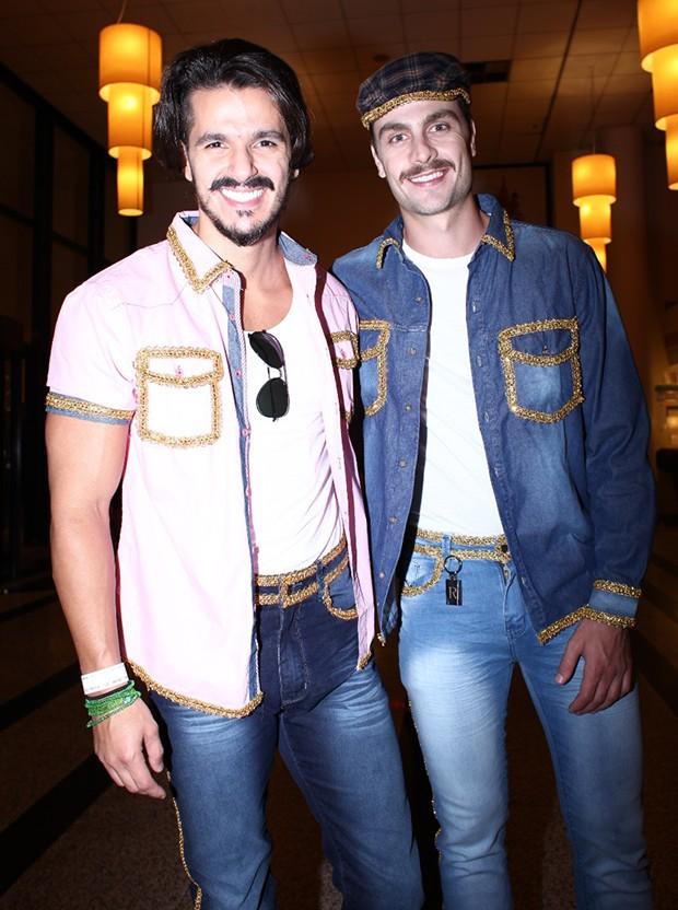 Paulo Dalagnoli e Bruno Lopes (Foto: João Bertholini/ QUEM)