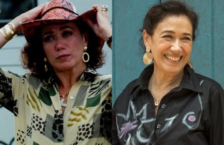 Lilia Cabral, a vilã Daphne, incentivava o filho, Carlos Charles (Rodrigo Santoro), a seduzir Cristal (Sandy). A atriz está no ar como Valentina em 'O Sétimo Guardião' TV Globo