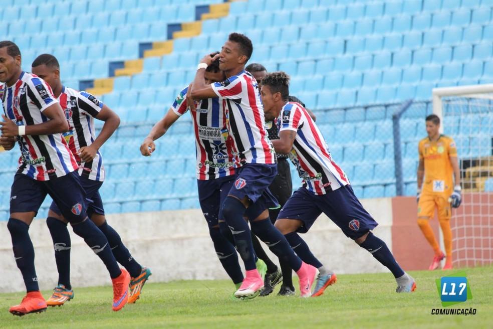 Plano inical do Maranhão é jogar no Nhozinho Santos, mas falta de laudo da PM inviabilizou jogo contra o Sampaio (Foto: Lucas Almeida / L17 Comunicação)