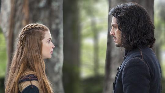 Amália e Afonso discutem