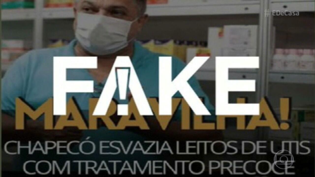 G1 em 1 Minuto: É #FAKE que Anvisa liberou Ivermectina e ainda ampliou sua dosagem para tratamento de Covid-19