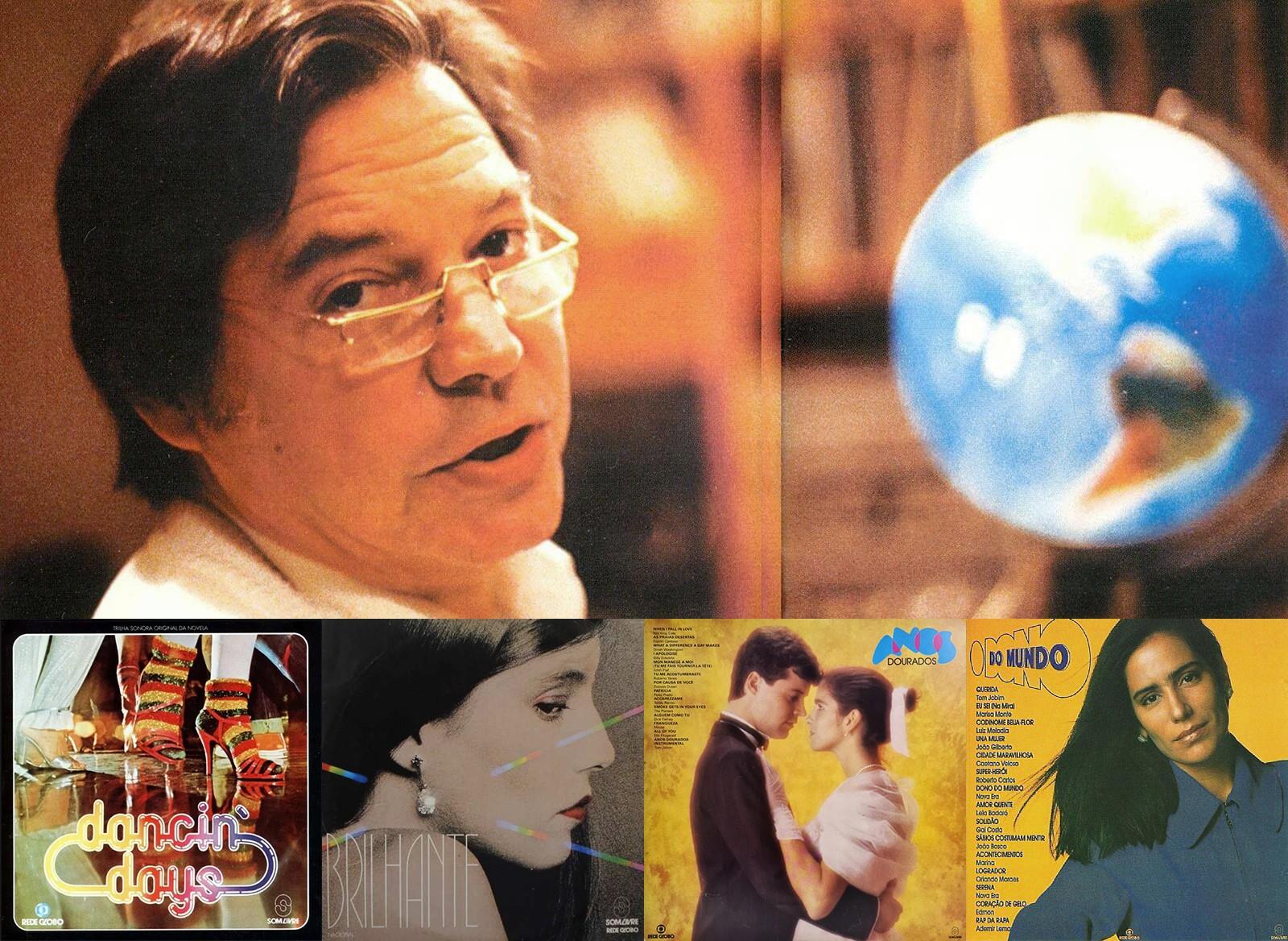 Novelas e séries de Gilberto Braga também deixam legado na música brasileira com trilhas sonoras históricas
