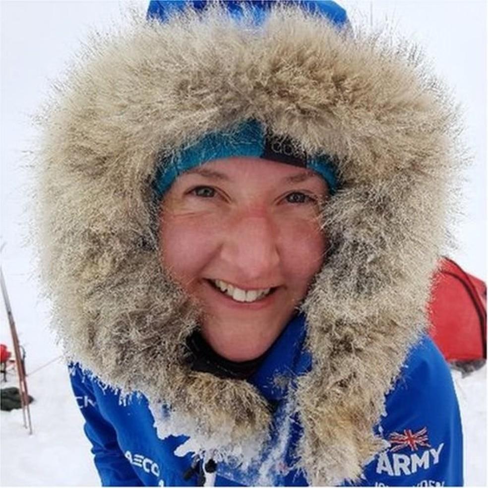 Sophie se candidatou para integrar a expedição Ice Maiden na Antártida, mas não achava que seria selecionada — Foto: Acervo pessoal