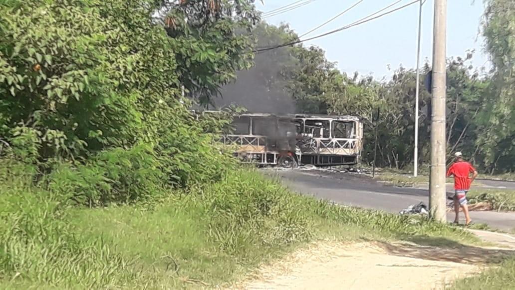 GCM prende suspeito de integrar grupo que ateou fogo em ônibus no Vitória Régia em Sorocaba