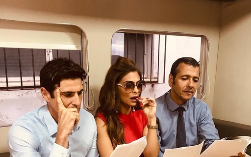 'A Dona do Pedaço': Gianecchini, Ju Paes e Marcos Palmeira reagem a cenas secretas - Quem Acontece