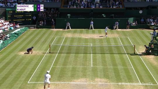 Djokovic se vinga de espanhol e aguarda Federer na final de Wimbledon