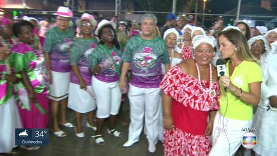 Festa das campeãs do carnaval 2019 na Cidade do Samba