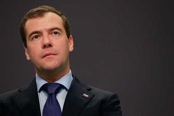 Dmitry Medvedev, primeiro-ministro da Rússia (Foto: Getty Images)