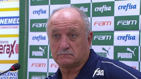 """Felipão, sobre VAR no jogo do Palmeiras: """"Quando eu parar, vou dizer algumas coisas"""""""