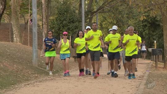 Corredores de Jaguariúna se reúnem em preparação para a 34ª Corrida Integração